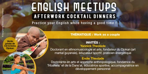 English Meetups Afterwork Cocktail Dinners