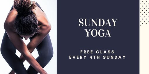{FREE} Sunday Yoga