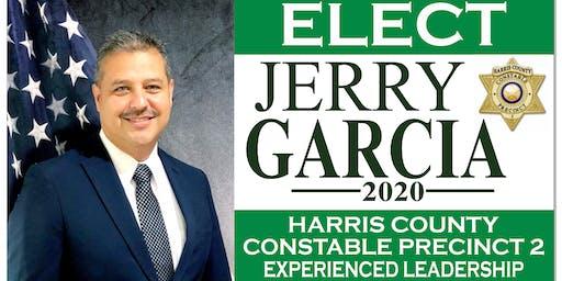 Meet & Greet Candidate for Harris County Precinct 2 Lt. Jerry Garcia