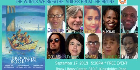 #BKBF BOOKENDS: Spoken word/Poetry Featuring Bronx Book Fair Voices tickets