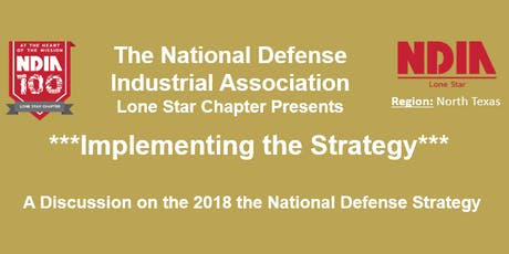 NDIA - Implementing the National Defense Strategy tickets