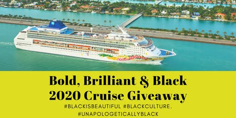 2020 Bold Brilliant & Black Cruise tickets