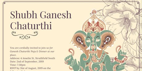 Ganesh Chaturthi with the Tolanis tickets