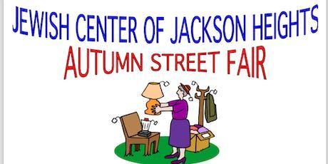 Jewish Center of Jackson Heights - Autumn Street Fair 2019 tickets