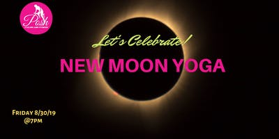 New Moon Yoga  Happy Hour Celebration