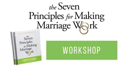 Gottman Couples Workshop: 7 Principles for Making Marriage Work tickets