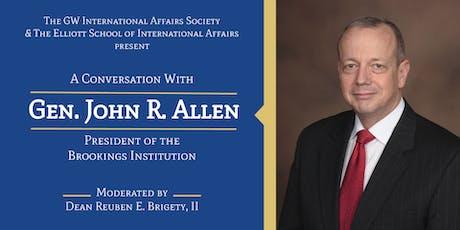 The GW IAS Presents: A Conversation with Gen. John Allen tickets