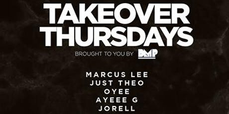 Takeover Thursdays – DJs MIDNIGHT, HYPEMANSF, ROB T. + VON P. tickets