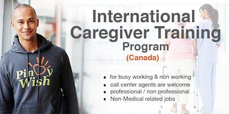 International Caregiver Training Program for Canada tickets