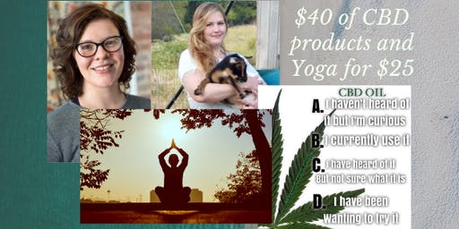 CBD Education & Yoga in the Park