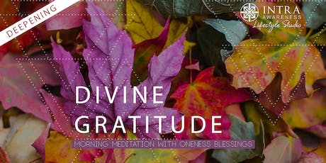 Divine Gratitude Deepening | A Morning Meditation w/ Oneness Blessings tickets