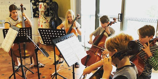 Intermediate Cello Group for 11-14s at The Fleurys Music School