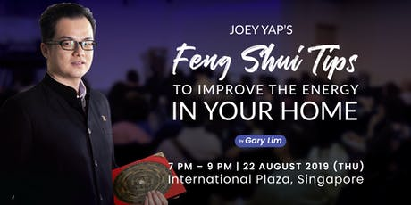 Joey Yap's Feng Shui Tips To Improve The Energy In Your Home tickets