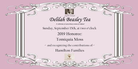 8th Annual Delilah Beasley Tea tickets