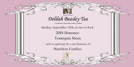 8th Annual Delilah Beasley Tea tickets