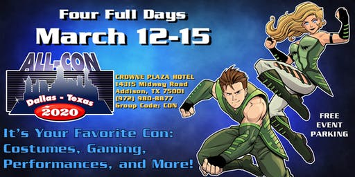 ALL-CON XVI: Over 400 Events! What Will You Choose To Do?