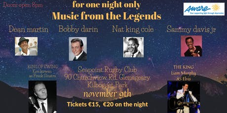 Swing with the King a night in aid of Aware , this is a fundraising event tickets