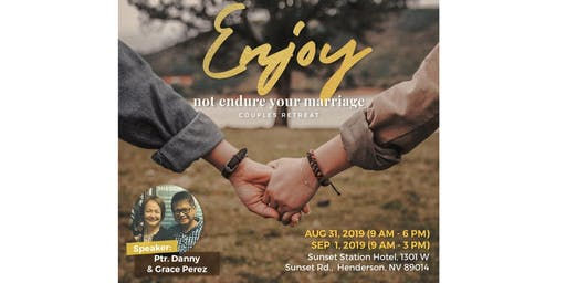 ENJOY, Not ENDURE Your Marriage!