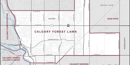 Calgary Forest Lawn - Nomination Town Hall with Ryan Ellis