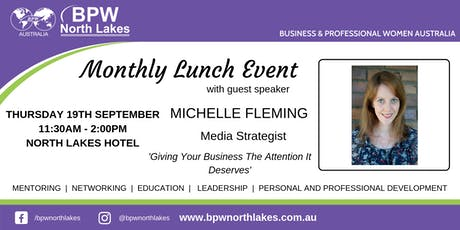 BPW North Lakes September Lunch tickets