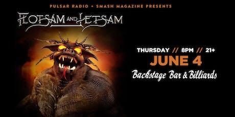 Flotsam & Jetsam tickets