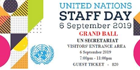 UN Staff Day Ball 2019 tickets