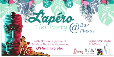 L'Apero Tiki Party @Bar Fluxus tickets