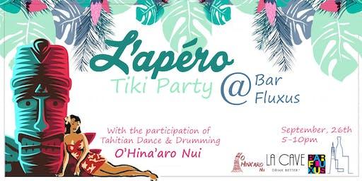 L'Apero Tiki Party @Bar Fluxus