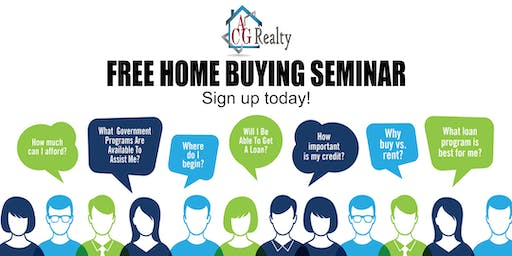 """New Year New Home"" Free Home Buyers Seminar"