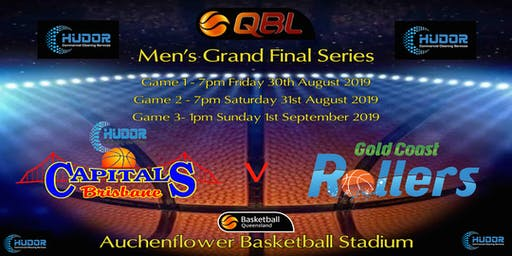 2019 QBL Grand Final Series  Game 1- Brisbane Capitals v Gold Coast Rollers