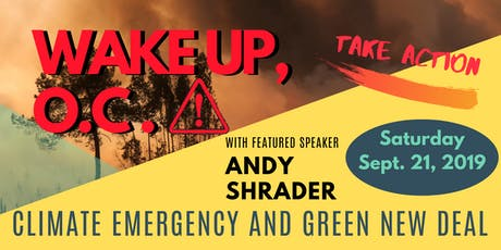 WAKE UP, O.C.! Climate Emergency and Green New Deal tickets