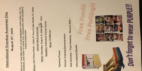 Overdose Awareness Event  tickets