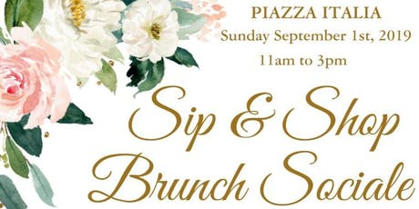 Sip & Shop Brunch Sociale tickets
