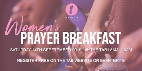 Tab Women Prayer Breakfast  tickets