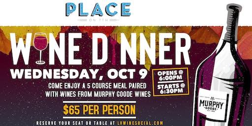 Murphy Goode Wine Dinner
