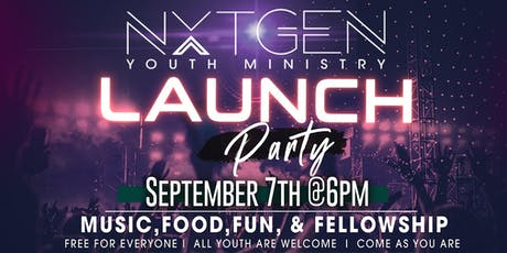Nxt Gen Youth Tampa Launch Party tickets