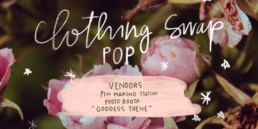 Clothing Swap Pop Party