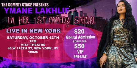 PRE-SALE for Ymane Lakhlif's 1st Stand-Up Special LIVE in NYC tickets