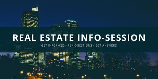 Real Estate Information Session - Free