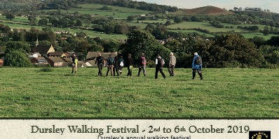 Dursley Walking Festival 2019 - Bus Walk to Woodchester Mansion
