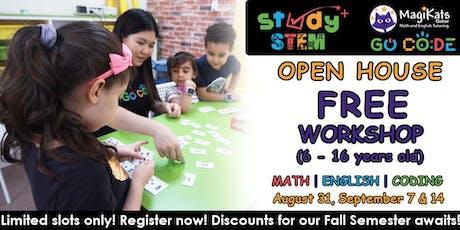 FALL SEMESTER - StudySTEM Open House tickets