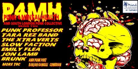 Punk4MentalHealth For Mind Camden  tickets