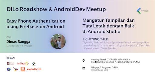 AndroidDev Surabaya Meetup : Easy Phone Authentication