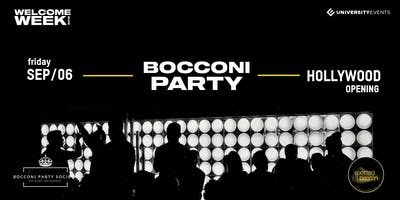 Bocconi Party at Hollywood Opening