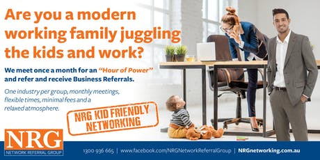 NRG KID-FRIENDLY Networking Meeting - SOUTH tickets