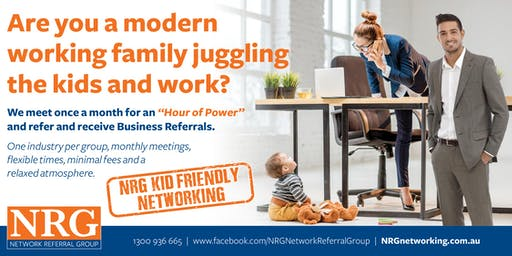 NRG KID-FRIENDLY Networking Meeting - SOUTH