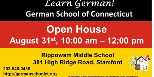 German School of CT Open House