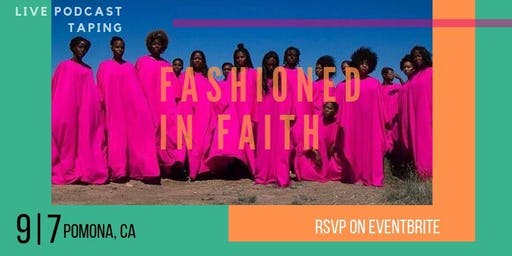Fashioned In Faith: live podcast taping