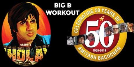 Amitabh Bachchan Workout tickets