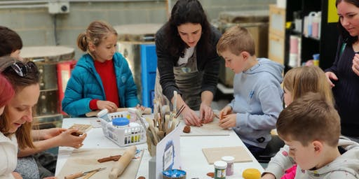 Tuesday - Little Potters 'Hand Building and Wheel Throwing' Classes
